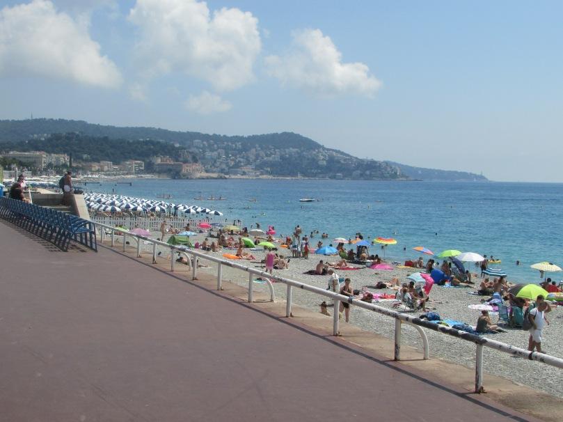 Promenade des Anglais et sa plage