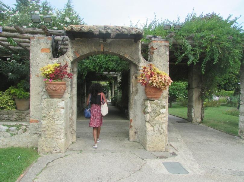 Jardin des arènes du Cimiez