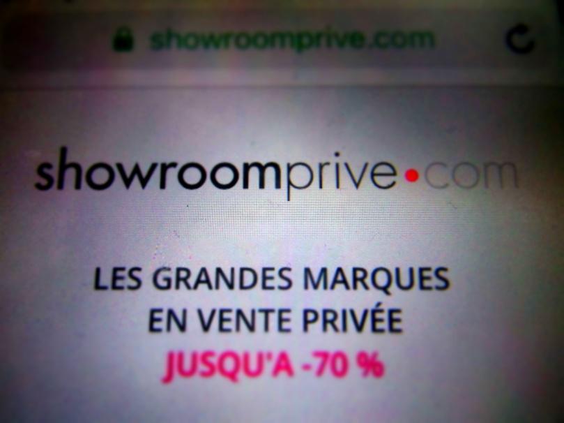 Showroom site de vente privé