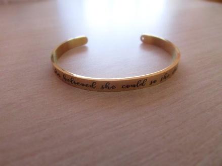 Bracelet - créer pour un but