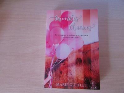 Livre Secondes Chances de Marie Gufflet - créé pour un but