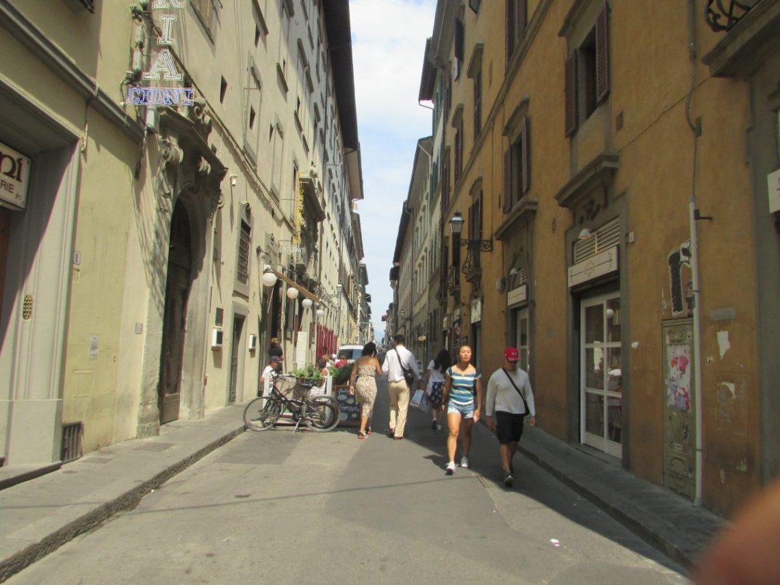 Une ruelle de Florence