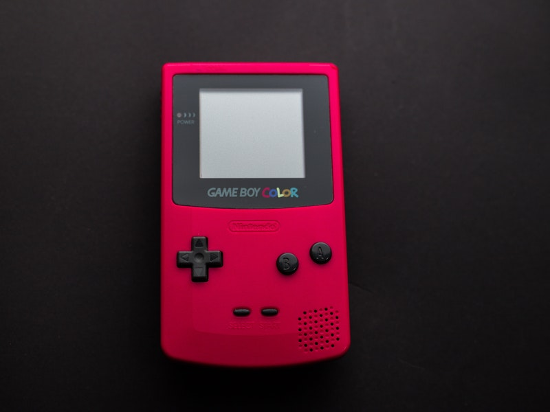 game boy color fuschia