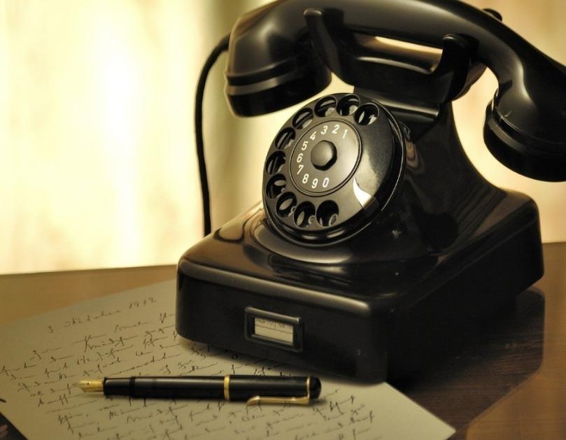 Le téléphone à cadran rotatif