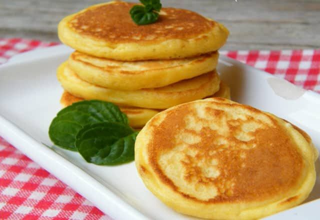 Les traditionnels blinis