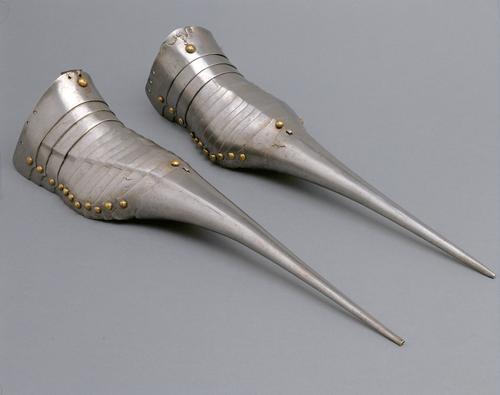 Chaussures en métal