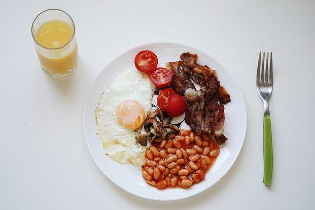Petit-déjeuner salé