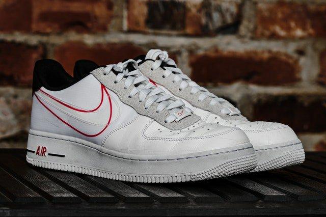 Le modèle Air force one de Nike
