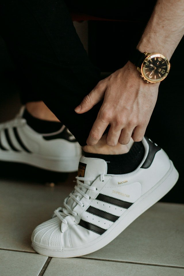 Le modèle Superstar d'adidas