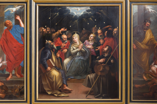 Apôtres remplis du Saint-Esprit