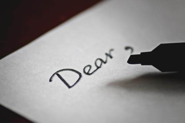 rédiger une lettre d'amour à son