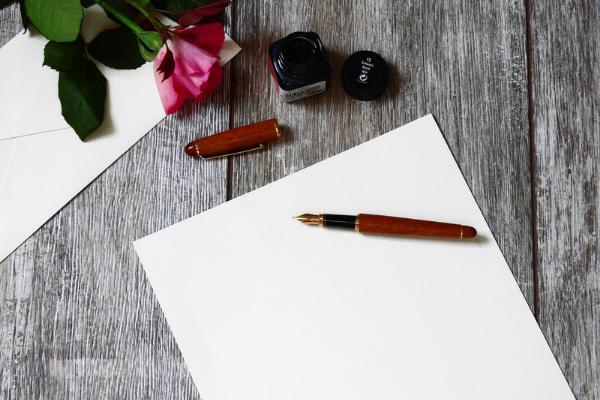 Ecrire une lettre d'amour pour la fête des papas
