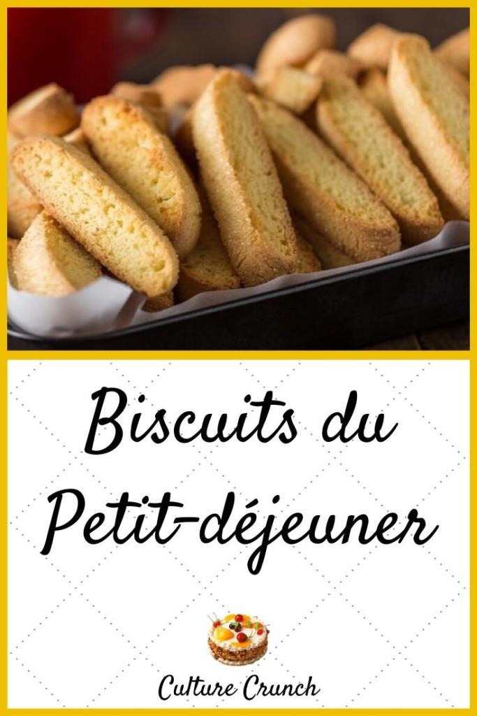 Biscuits pour petit-déjeuner