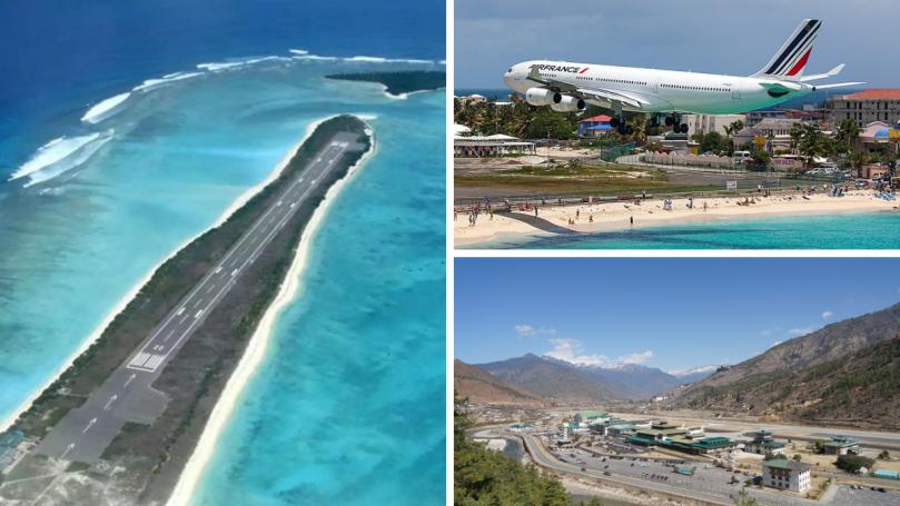 Top 15 des aéroports les plus insolites au monde